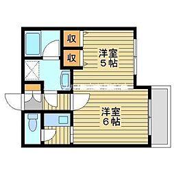 フォーラム伊島一番館[3階]の間取り