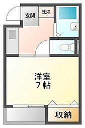 サンクレールII[4階]の間取り