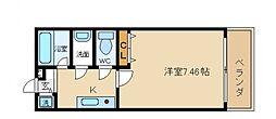 ディア コート高松[2階]の間取り