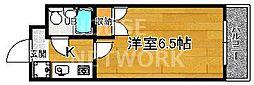 下京区第17長栄シャルマン四条大宮壱番館[302号室号室]の間取り