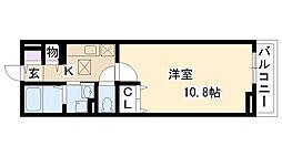 メゾン・アリナル[1階]の間取り