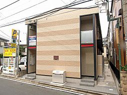 埼玉県富士見市鶴瀬東1丁目の賃貸アパートの外観