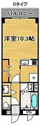 メゾンビトロ2[4階]の間取り