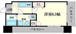 ドゥエリング千林[2階]の間取り