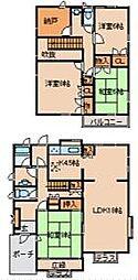 [一戸建] 茨城県龍ケ崎市松葉4丁目 の賃貸【/】の間取り