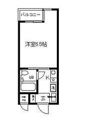 日神パレス戸塚(ニッシンパレストツカ)[3階]の間取り