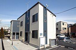 東京都足立区江北7丁目の賃貸アパートの外観