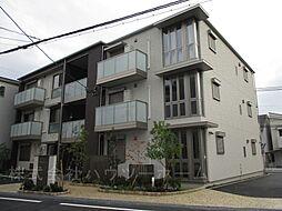 京都府城陽市枇杷庄西ノ口の賃貸マンションの外観
