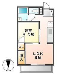 KS千種[7階]の間取り