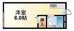 千葉県茂原市本納の賃貸アパートの間取り