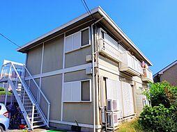 東京都東久留米市幸町2丁目の賃貸アパートの外観