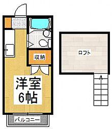 パルコヴィアーレ[2階]の間取り