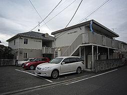 愛媛県松山市北井門4丁目の賃貸アパートの外観