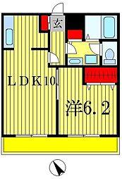 t.m.placeII[2階]の間取り