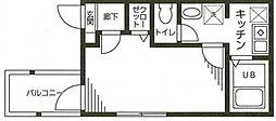セレクトハウス[1階]の間取り