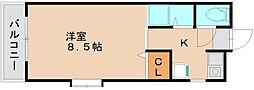 パレステージ[2階]の間取り