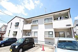 愛知県名古屋市天白区島田黒石の賃貸アパートの外観