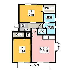 SOURCE(スルス) I・II[1階]の間取り