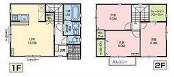 [一戸建] 埼玉県さいたま市浦和区木崎5丁目 の賃貸【/】の間取り
