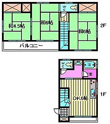 [一戸建] 埼玉県川口市大字東本郷 の賃貸【/】の間取り
