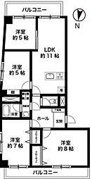 3方角部屋藤和亀有コープII