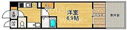 ラナップスクエア京都鴨川[102号室号室]の間取り