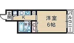 クレアコート曽根[2階]の間取り