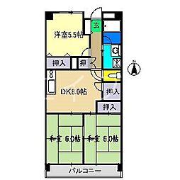 ハイム24[2階]の間取り