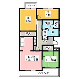 コートハウス30[2階]の間取り