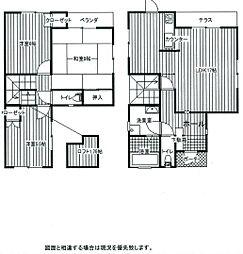 [一戸建] 千葉県香取郡神崎町四季の丘 の賃貸【/】の間取り