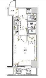 ヴェルト横浜ブライトコート[7階]の間取り