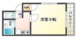 大阪府大阪市平野区平野本町5丁目の賃貸マンションの間取り