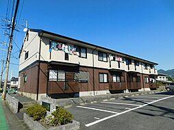 福岡県北九州市八幡西区下上津役2丁目の賃貸アパートの外観