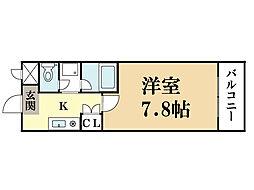 M'プラザ大住弐番館[5階]の間取り