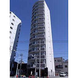 東京都北区志茂4丁目の賃貸マンションの外観