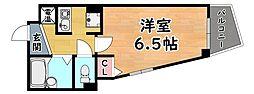 阪急神戸本線 王子公園駅 徒歩1分の賃貸マンション 5階1Kの間取り