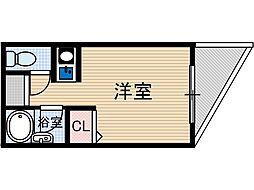 ラポート37[3階]の間取り