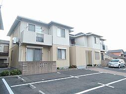 福岡県北九州市八幡東区槻田1丁目の賃貸アパートの外観