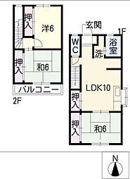 ペンション白馬7号館[1階]の間取り