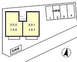 MIII[102号室]の外観