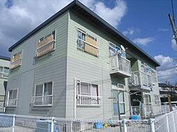 福岡県福津市福間駅東2丁目の賃貸アパートの外観