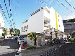 神奈川県川崎市多摩区枡形3丁目の賃貸アパートの外観