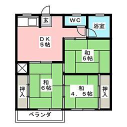 ニュ−上越[2階]の間取り