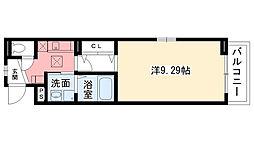 兵庫県西宮市薬師町の賃貸アパートの間取り