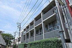 Hi-ROOMS桜上水A[3階]の外観