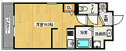 「スワンズ京都二条城北」[3階]の間取り