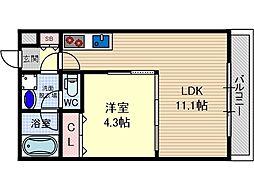 メゾンプレジール[2階]の間取り