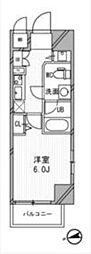浅草橋レジデンス[803号室]の間取り