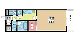 大阪府豊中市螢池西町2丁目の賃貸アパートの間取り
