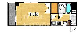DETOM-1今出川通[1005号室号室]の間取り